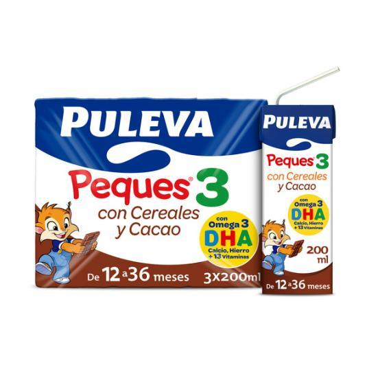 PULEVA PEQUES 3 CER.AL CACAO P-3
