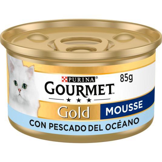 GOURMET CAT GOLD MOUS.PESCADO 85g