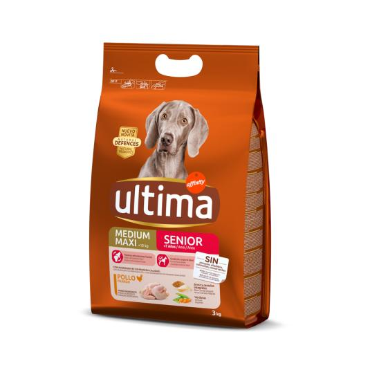 ULTIMA DOG MEDIUM SENIOR 3 KG