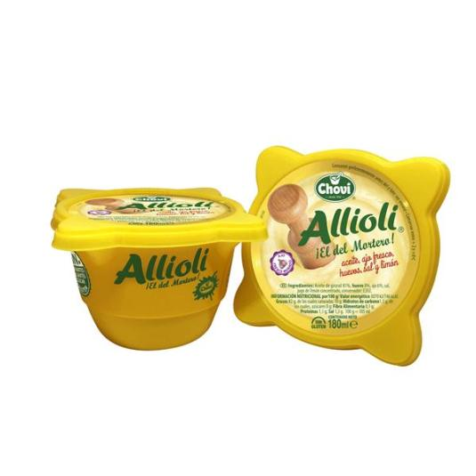 ALLIOLI MORTERO CHOVI 180ML