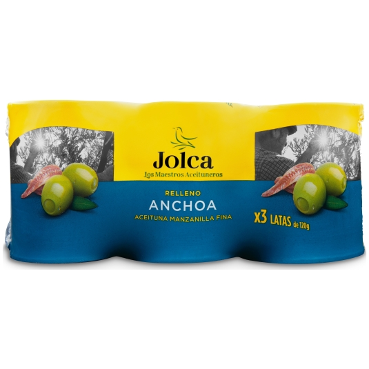 ACEITUNA R/ANCHOA JOLCA LATA P-3