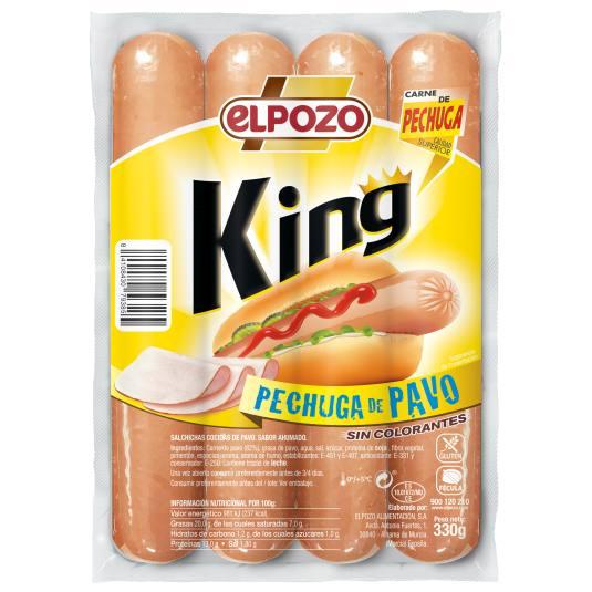 SALCH.KING PECH.PAVO EL POZO 330G