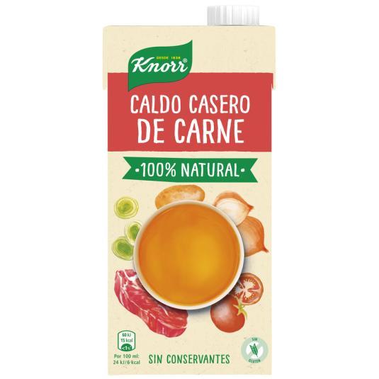 CALDO LIQ.CASERO NATURAL CARNE KNORR 1 L