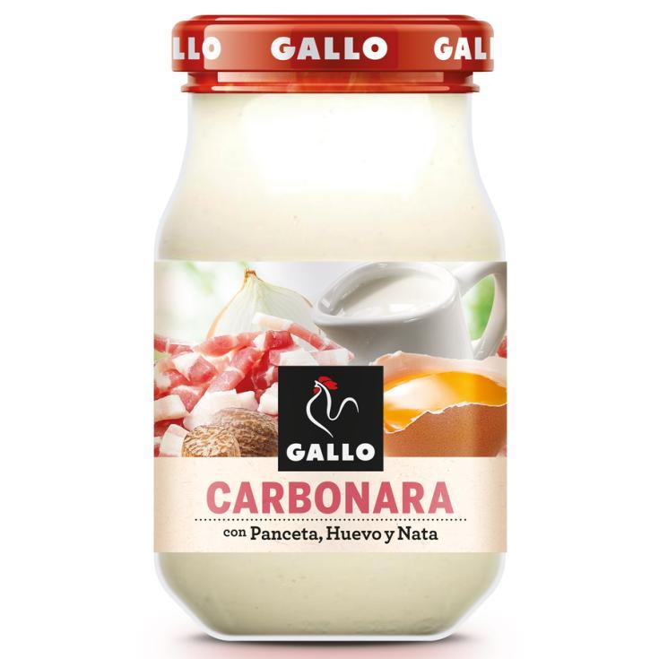 SALSA CARBONARA GALLO 330 G