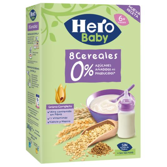 PAPILLA 8 CEREALES HERO 340G