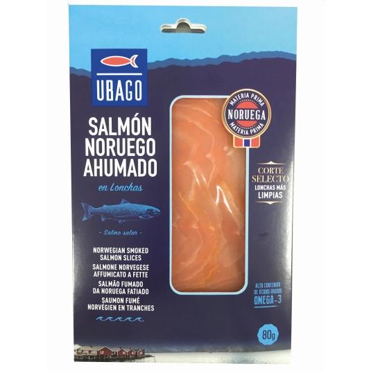 SALMON NOR.AHUMADO UBAGO 80G