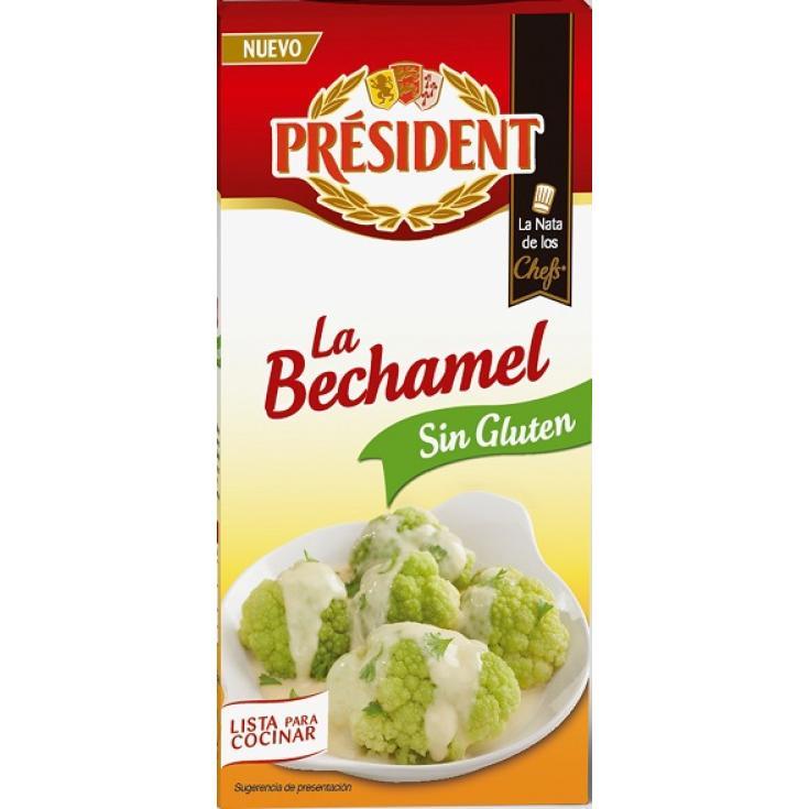 BECHAMEL S/GLUTEN PRESIDENT 500ML