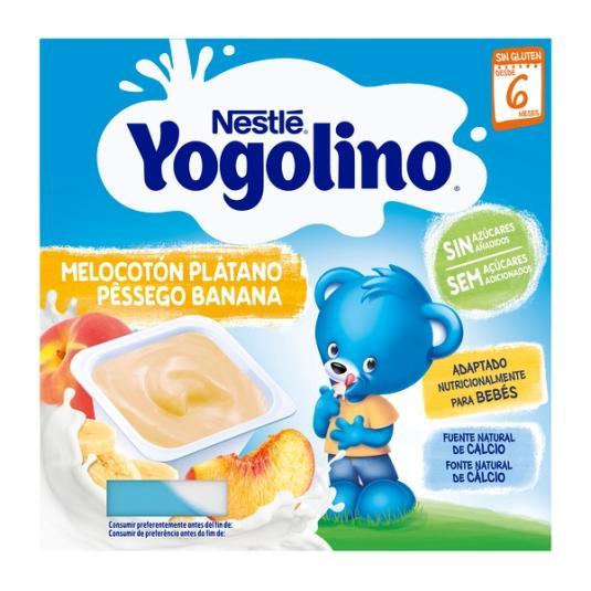 IOGOLINO MELOCOTON S/AZ.4X100G