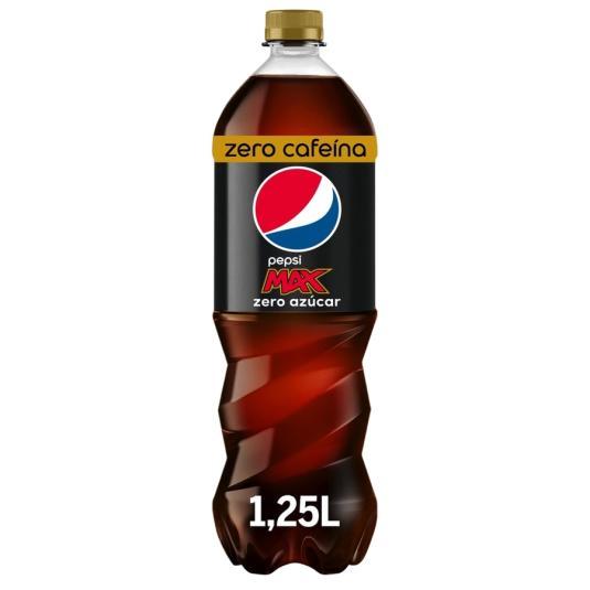 PEPSI COLA MAX S/CAFEINA 1.25L