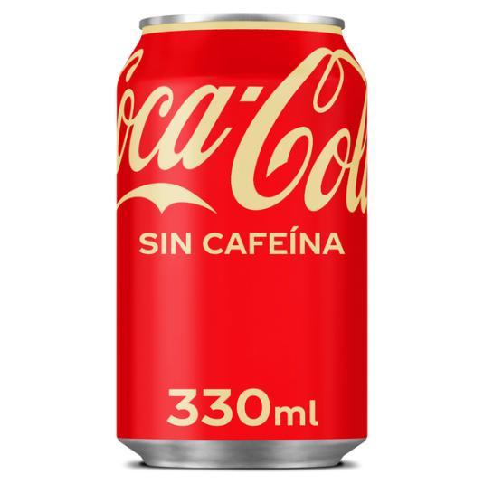 COCA COLA S/CAFEINA LATA 33 CL