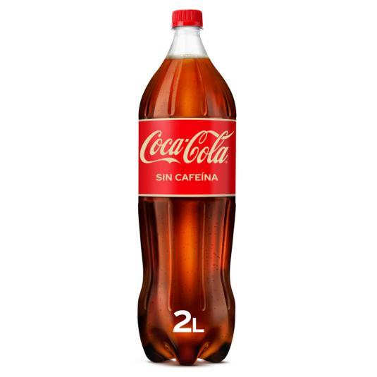COCA COLA S/CAFEINA 2 L