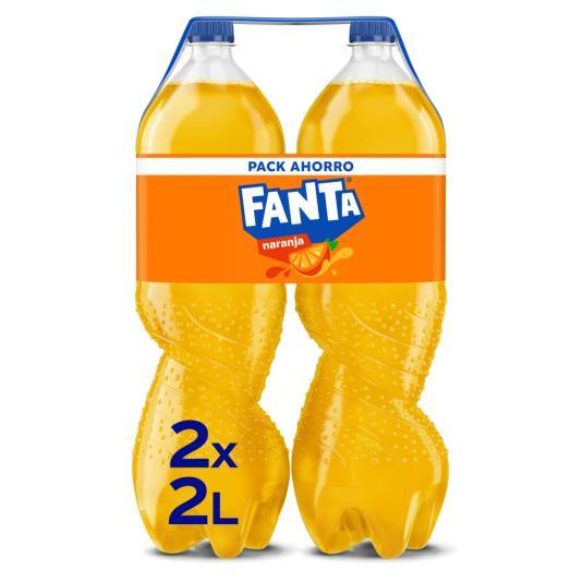 FANTA NARANJA 2 L BIPACK