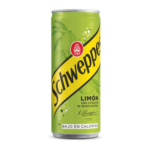 SCHWEPPES LIMON LATA 33 CL