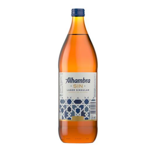 CERV.ALHAMBRA S/ALCOHOL 1 L