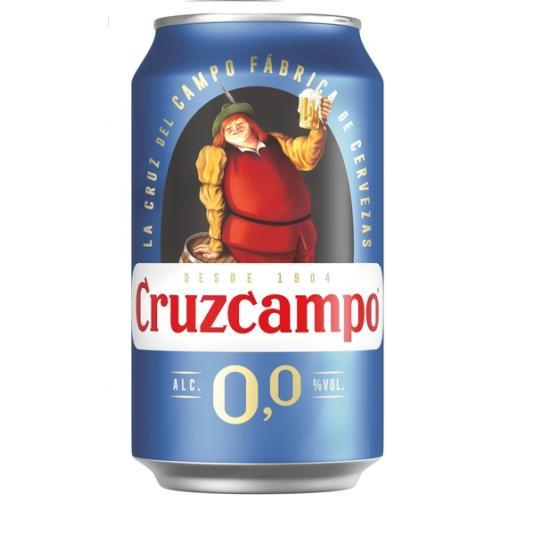 CERV.CRUZCAMPO 0,0% LATA 33 CL