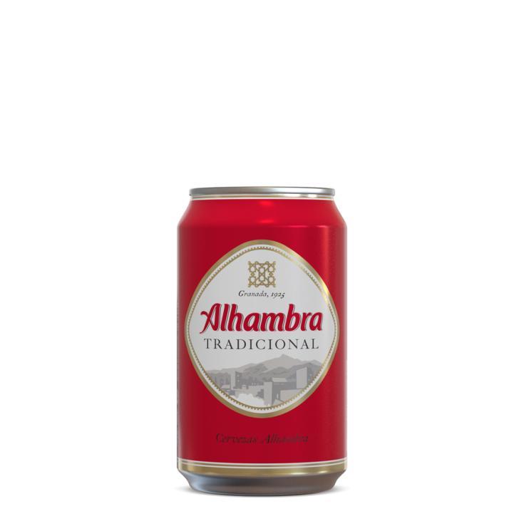 CERV.ALHAMBRA LATA 33 CL