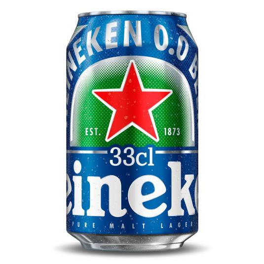 CERV.HEINEKEN 0,0 % LATA 33CL