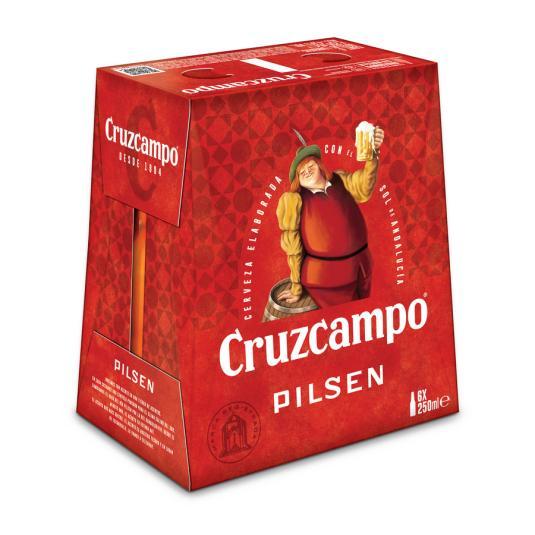 CERV.CRUZCAMPO 1/4 PACK-6
