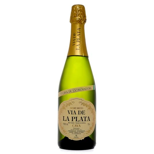 CAVA SEMISECO VIA DE LA PLATA 750 ML