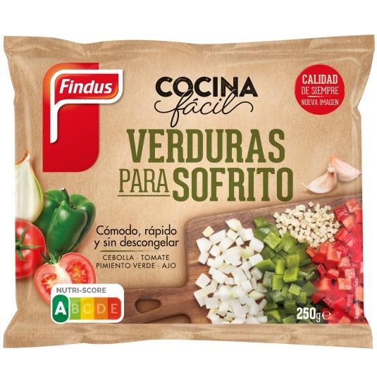 VERDURAS PARA SOFRITO FINDUS 250 GR