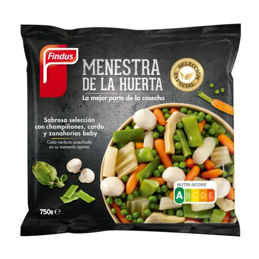 MENESTRA DE LA HUERTA FINDUS 750 GR