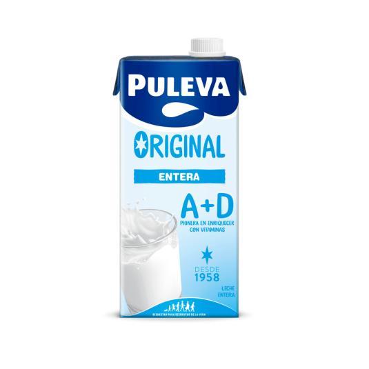 LECHE PULEVA ENTERA BRIK 1L