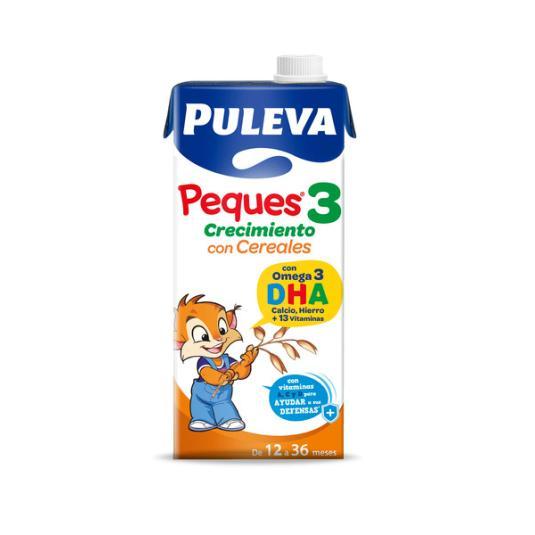 LECHE PULEVA PEQUES-3 CEREAL.1L