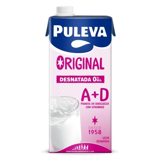 LECHE PULEVA DESNATADA BRIK 1L