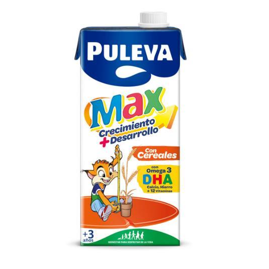 LECHE PULEVA MAX CEREALES 1 L