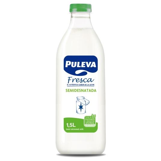 LECHE FRESCA SEMI PULEVA 1.5 L