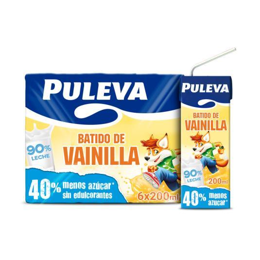 BATIDO PULEVA VAINILLA 200MLX6
