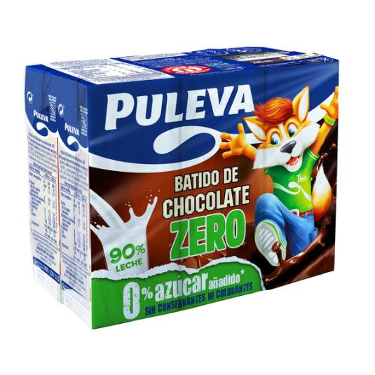 BATIDO PULEVA CHOCO ZERO P-6