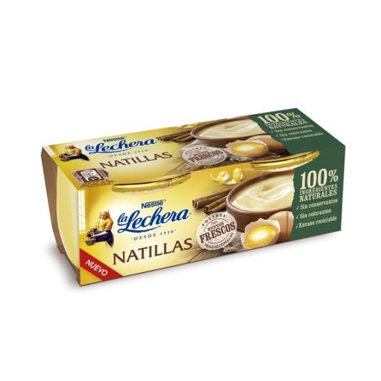 NATILLA HUEVO LA LECHERA 2X100G