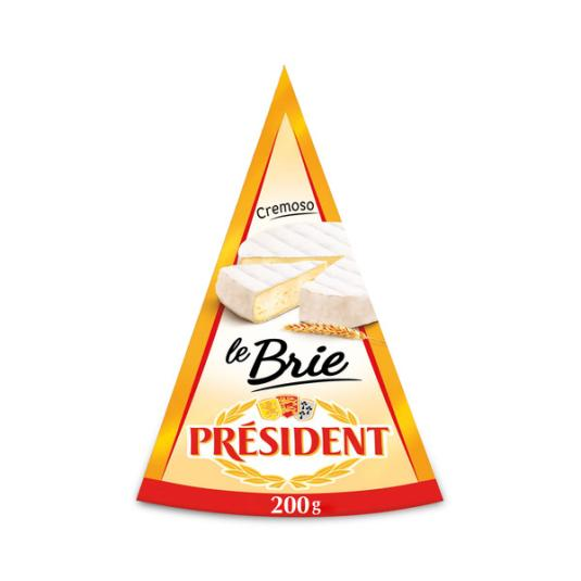 QUESO BRIE PRESIDENT 200 GR
