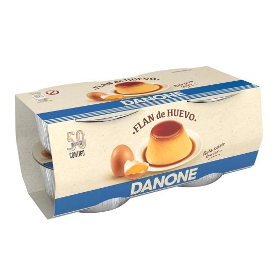 DEPOSTRE FLAN HUEVO DANONE X4