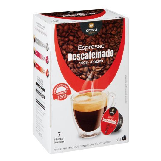 CAFE ESP.DESCAF.ALTEZA CAPS D.G 16U