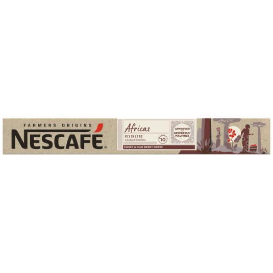 NESCAFE FARMER´S AFRICAS 10 CAPS.