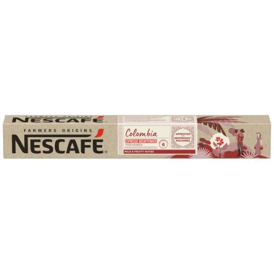 NESCAFE FARMER´S COLOMBIA DESC. 10 CAPS.