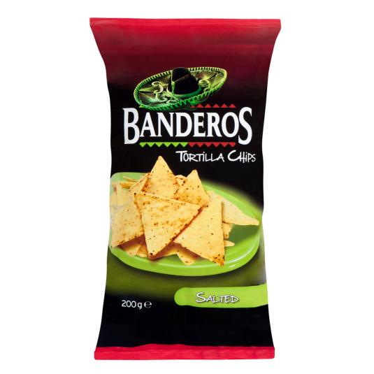 TORTILLAS CHIPS BANDEROS 200GR