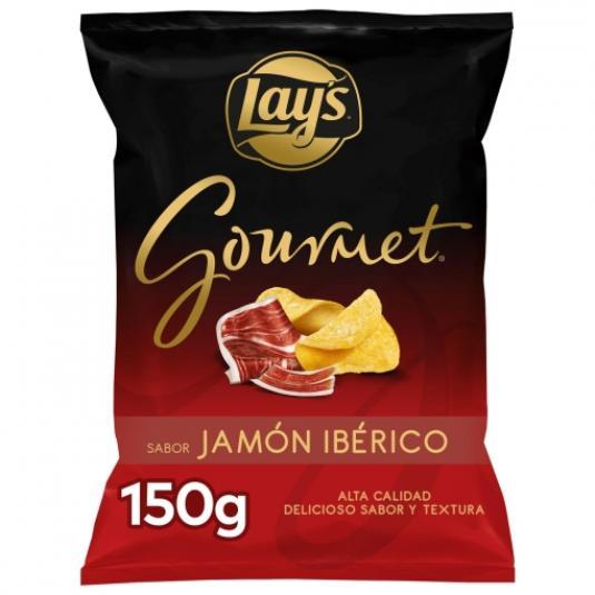 PATATAS LAYS GOURMET JAMON 150 GR