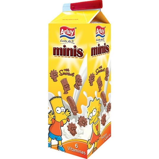 GALL.MINIS THE SIMPSONS 275 gr