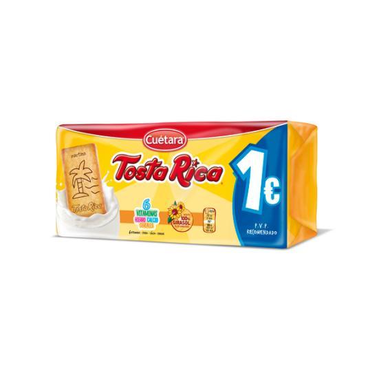 TOSTA RICA CUETARA 190GR