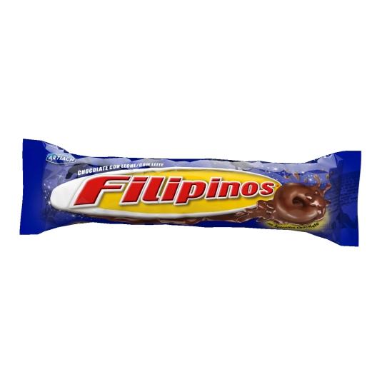 FILIPINOS CHOCO C/LECHE 100 GR