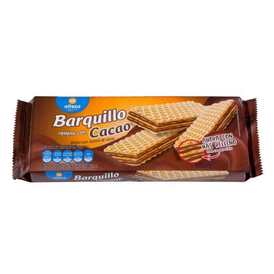BARQUILLO DOBLE R/CHOCO ALTEZA
