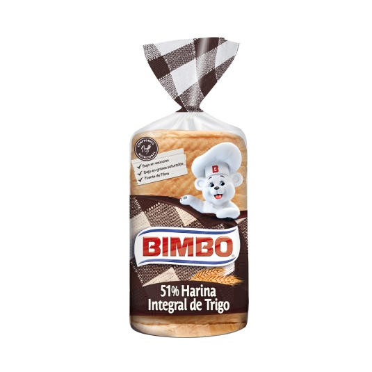 PAN BIMBO INTEGRAL 480 GR