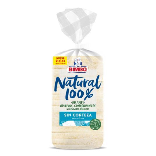 PAN BIMBO NAT.100% S/CORTEZ 450 GR