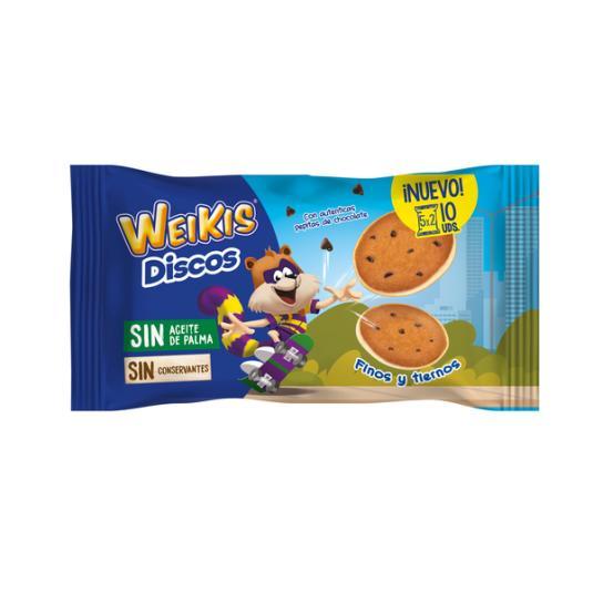 WEIKIS DISCOS 5 X 2 UDS