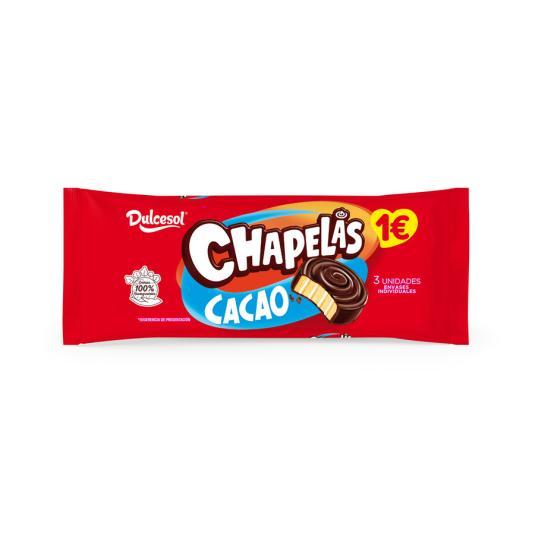 CHAPELA CHOCO DULCESOL 4 UD