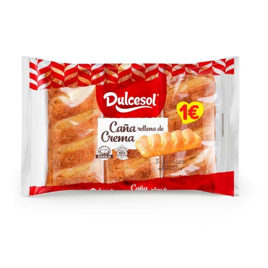 CAÑA CREMA DULCESOL 4 UD