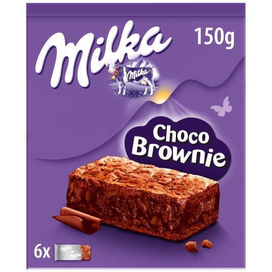 MILKA SOFT CAKE BROWNIE 150GR